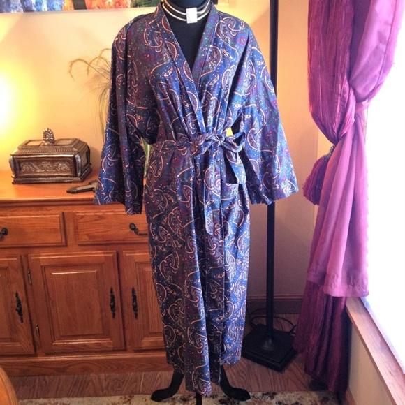 50f55a89c4656 Dior Tops - Unisex Vintage Christian Dior Robe Duster Kimono